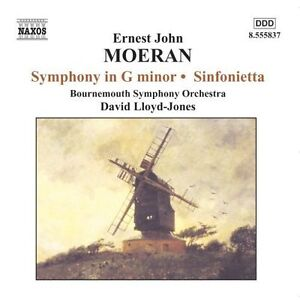 E.J. Moeran - Ernest John Moeran: Symphony in G minor; Sinfonietta (CD) FREEPOST