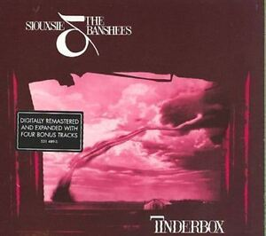 SIOUXIE AND THE BANSHEES - TINDERBOX - REMASTERED CD WITH BONUS TRACKS