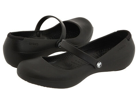 Crocs Alice Work Mary Jane Flats