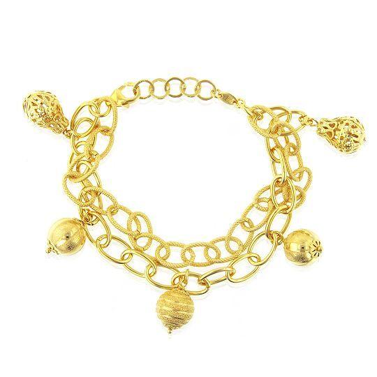 gold charm bracelet buying guide ebay