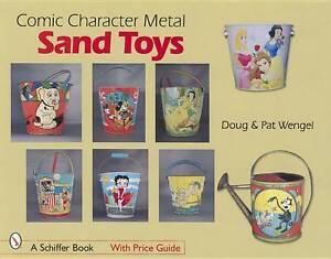 Comic Character Metal Sand Toys by Wengel, Doug, Wengel, Pat