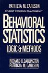 Behavioral Statistics, Richard B. Darlington and Patricia M. Carlson, 002907861X