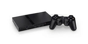 Sony-PlayStation-2-Slimline-Charcoal-Black-Console-With-Buzz-and-3-Games