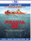 Piranha (Blu-ray Disc, 2011, 2-Disc Set, 3D) (Blu-ray Disc, 2011)