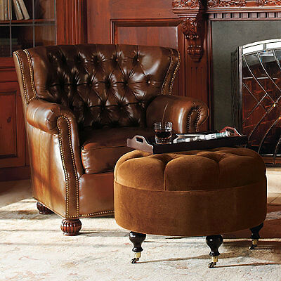 How to Buy Antique Leather Chairs on eBay
