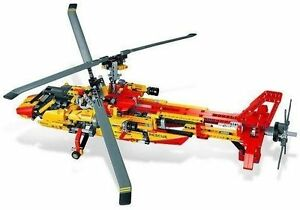 Lego-Technic-9396-Helicopter-New-Sealed-with-creases-to-box