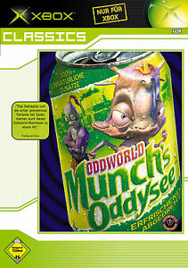 *** ODDWORLD Munch`s Oddysee *** XBOX *** Komplett mit Anleitung & OVP ***