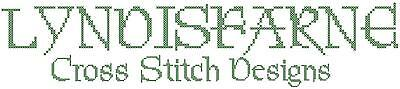 Lyndisfarne Cross Stitch Designs