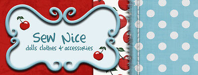 Sew Nice dolls clothes