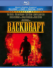 Backdraft (Blu-ray/DVD, 2011, 2-Disc Set,) Kurt Russell NEW/SEALED -