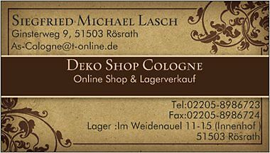 Deko Shop Cologne