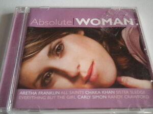 """ABSOLUTE WOMAN""-20 Track Comp-Soul-Disco-R&B-Abba-BRAND NEW CD 2006"