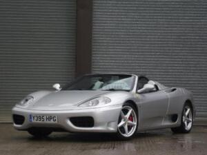 2001 FERRARI 360 SPIDER F1 2DR UK CAR RHD