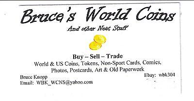 Bruce's World Coins and Other Stuff
