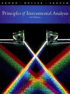 Principles of Instrumental Analysis by S...