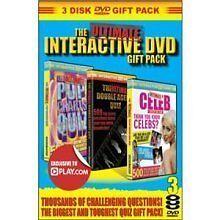 Ultimate Interactive DVD Quiz (DVDi, 2010) NEW&SEALED 3 Dvd's