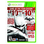Batman: Arkham Asylum Microsoft Xbox 360 Video Games