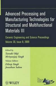 Advanced Processing and Manufacturing Technologies for Structural and Multifunct