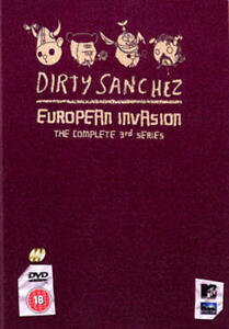 Dirty Sanchez European Invasion Series 3 DVD - Romford, United Kingdom - Dirty Sanchez European Invasion Series 3 DVD - Romford, United Kingdom