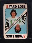 Topps Joe Namath Set Football Trading Cards