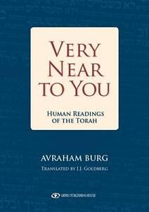 Very Near to You, Avraham Avrum Burg