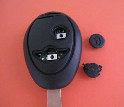 mini cooper remote key fob r50 r53 bmw 2 repair buttons ebay. Black Bedroom Furniture Sets. Home Design Ideas