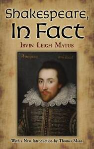 Shakespeare-In-Fact-by-Irvin-Leigh-Matus-Paperback-2012