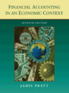 NEW - Financial Accounting in an Economic Context