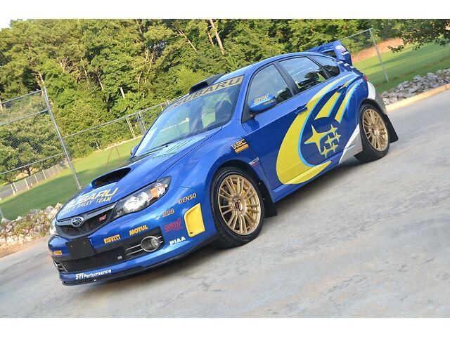 2008 subaru impreza wrx sti 6sp world rally team car only one in america nav used subaru. Black Bedroom Furniture Sets. Home Design Ideas