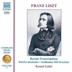 Liszt  Complete Piano Music Vol7 Rossini Transcriptions incl William Tell - <span itemprop='availableAtOrFrom'>East Kilbride, Glasgow (City of), United Kingdom</span> - Liszt  Complete Piano Music Vol7 Rossini Transcriptions incl William Tell - East Kilbride, Glasgow (City of), United Kingdom