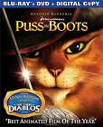 Puss in Boots (Blu-ray/DVD, 2012, Includes Digital Copy) (Blu-ray/DVD, 2012)