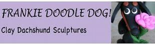 Frankie Doodle Dog Clay Dachshunds
