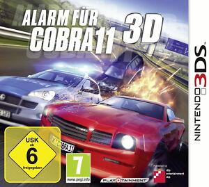 Alarm für Cobra 11 3D (Nintendo 3DS, 2011) NEU & OVP