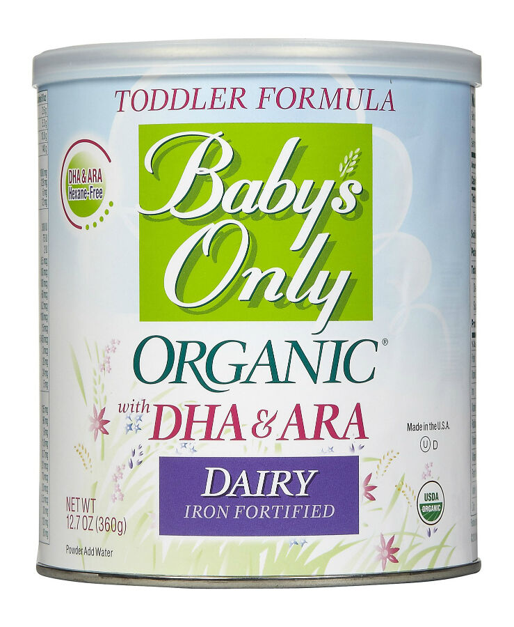 DHA and ARA-Enriched Formula