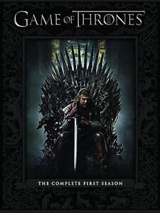 Game of Thrones: Complete First Season (DVD, 5-Disc) Ex Library - **DISCS ONLY**