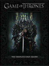 GAME OF THRONES: THE COMPLETE FIRST SEASON DVD, 2012, 5-DISC SET