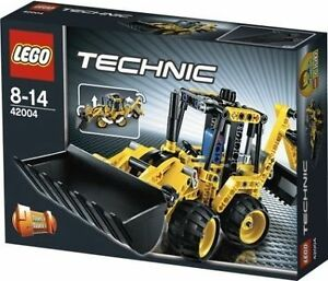 Lego-Technic-42004-Mini-Backhoe-Loader-NEW