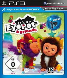 Eyepet & Friends PS3 Spiel PlayStation 3 Simulation Eye Pet & Freund DEUTSCH Neu