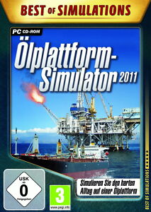 BEST OF SIMULATIONS * ÖLPLATTFORM-SIMULATOR 2011 * SIMULATIONS-SPIEL  PC CD-ROM