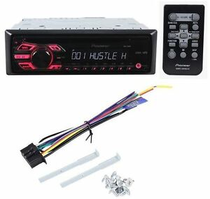 pioneer deh 150mp car audio stereo cd mp3 player receiver w remote