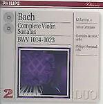 BACH COMPLETE Violin Sonatas BWV 1014-1023 1996 2CDS NEW SEALED