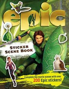 Epic Sticker Scene Book (Epic Film Tie in), Regan, Lisa, New Book