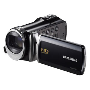 New Samsung HMX-F90 HD Camcorder Video Camera Black HMX-F90BN 52x Optical Zoom