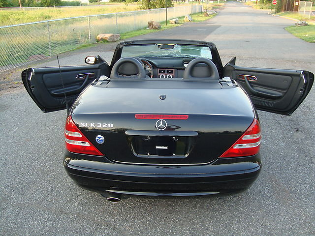 Slk320 convertible salvage rebuildable repairable damaged for Salvage mercedes benz for sale ebay