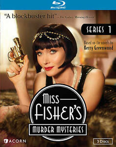 MISS-FISHER-039-S-MURDER-MYSTERIES-SERIES-1-New-Sealed-Blu-ray