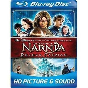 The Chronicles of Narnia: Prince Caspian (Blu-ray Disc, 2008, 2-Disc Set) NEW