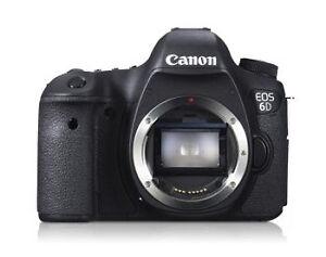 Canon EOS 6D Vs. Canon EOS 5D Mark III