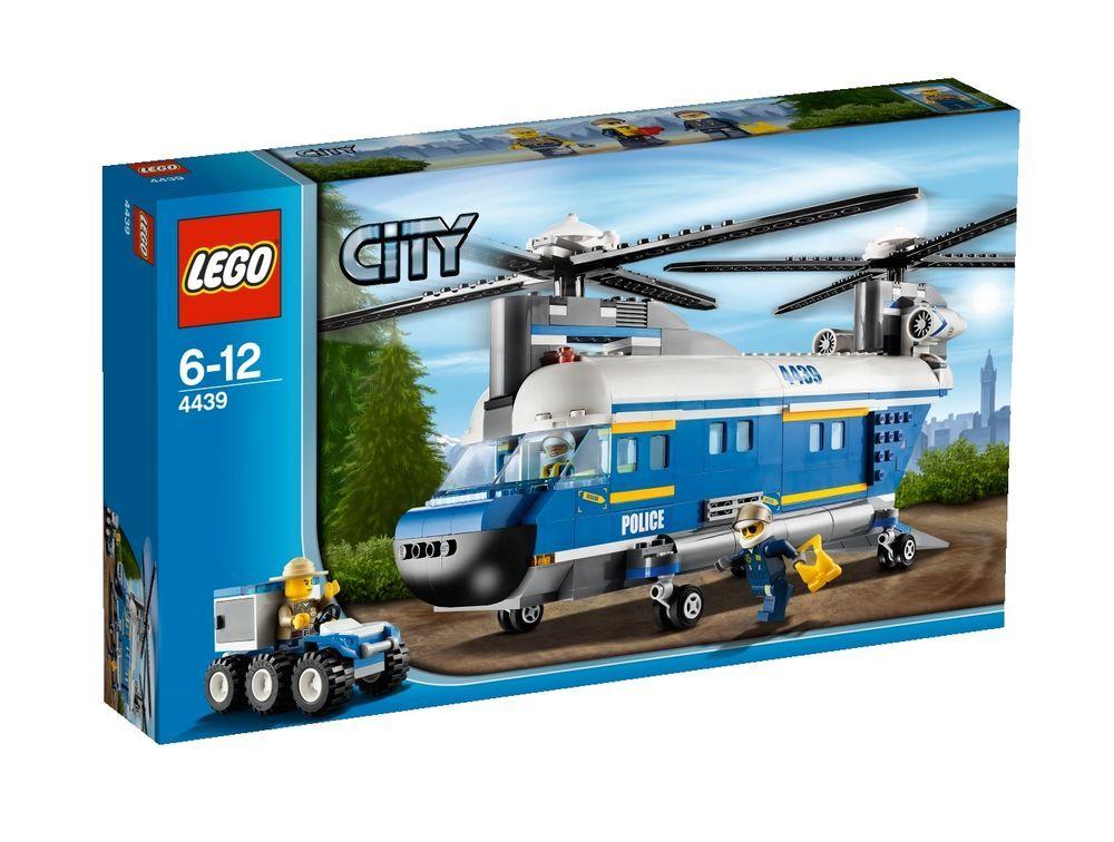 Lego City Heavy Lift Helicopter 4439 Ebay