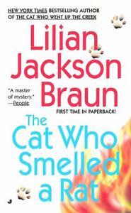 The-Cat-Who-Smelled-a-Rat-Lilian-Jackson-Braun-PB-Cute