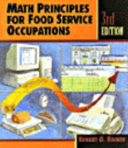 Math Principles for Food Service Occupations-ExLibrary